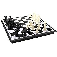 Sharplace-Tragbar-Magnet-Schach-1-Faltbare-Schachbrett-32-Schachfiguren-Perfekt-fr-Kinder-Geschenk-Spielzeug Sharplace Tragbar Magnet Schach – 1 * Faltbare Schachbrett + 32 * Schachfiguren – Perfekt für Kinder Geschenk Spielzeug – Klein -