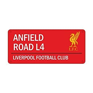 Official Football Team Metal COLOUR Street Sign (Various Teams to choose from) from Official Football Merchandise