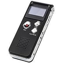 Yober Grabadora de Voz Digital y Portátil Grabador Multifuncional USB 8GB MP3 Grabación Activada por Voz con Micrófono