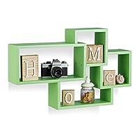 Lo scaffale Cube si compone di 4 pezzi da avvitare tra loro mediante le viti incluse nel contenuto della confezione. I cubi da parete sono disponibili in diverse varianti di colore e sono un'idea geniale per chi vuole ravvivare le prop...