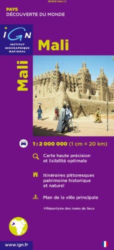 Carte routière : Mali par Cartes des Pays et Villes du Monde IGN