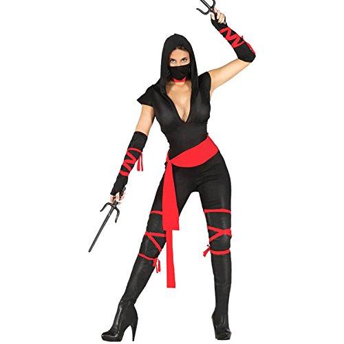 Kostüm von Frau ninja Erwachsene Größe M ()