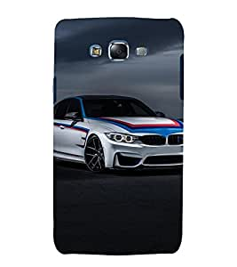 printtech Superfast Car Back Case Cover for Samsung Galaxy Core 2 G355H