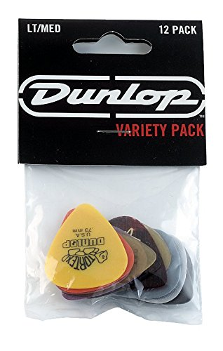 jim-dunlop-pvp101-variety-medium-light-guitar-pick-player-pack-pack-of-12