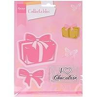 """Ecstasy Crafts Marianne Design Collectables-Fustella con motivo Scatola di cioccolatini, 1,25 """"to 2,25"""" """""""