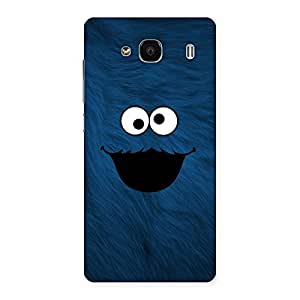 Blue Funny Ghost Back Case Cover for Redmi 2 Prime