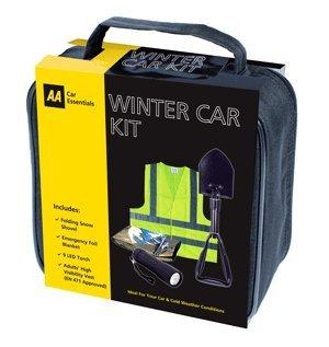 AA hiver neige Kit de voiture avec AA Pelle à neige pliable
