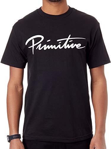 Preisvergleich Produktbild Primitive Nuevo Script T-Shirt Black (L)