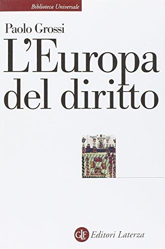 L'Europa del diritto
