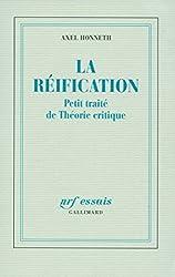 La réification: Petit traité de Théorie critique