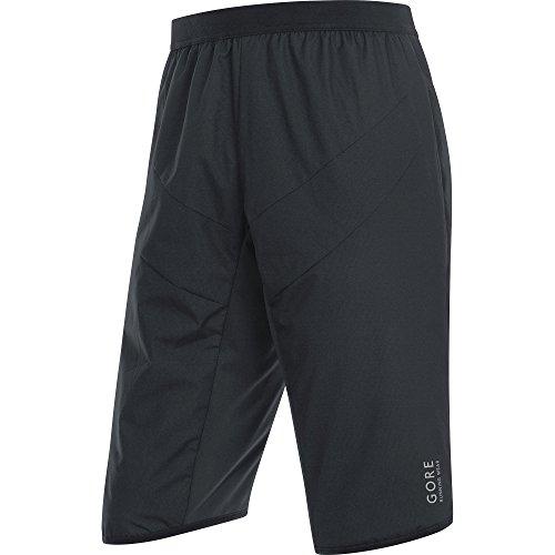 GORE WEAR Herren Essential Windstopper Insulated Shorts, Schwarz, M