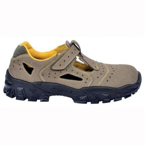 Cofra Scarpe antinfortunistiche, S3SRC, scarpe per sicurezza sul lavoro, 38, Grigio