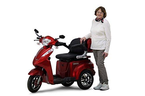 Scooter, Senior, Trottinette électrique, fauteuil roulant électrique Tricycle, Mobile econelo