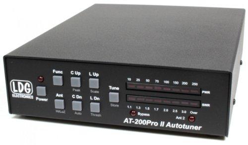 LDG Electronics at-200proii Automatische Antenne Tuner 1,8-54MHz, 5-250Watt SSB und CW. 100Watt auf 6m. 75Watt mit PSK oder Digital Modi. 2Jahre Garantie Automatische Antennen-tuner