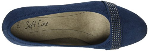 Softline 22474, Scarpe con Tacco Donna Blu (Navy 805)
