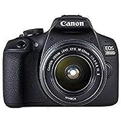 Canon EOS 2000D Reflex Numérique + EF-S 18-55 mm F/3.5-5.6 IS II