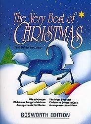 VERY BEST OF CHRISTMAS - arrangiert für Klavier [Noten / Sheetmusic]