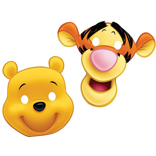 Party The Supplies Pooh Winnie (Disney Winnie the Pooh Party Masken,)