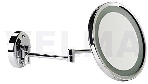 kosmetikspiegel mit beleuchtung led 7 fach test oder vergleich top 25. Black Bedroom Furniture Sets. Home Design Ideas
