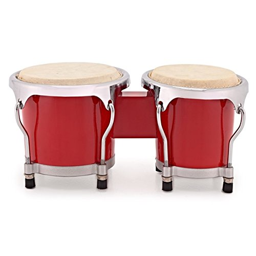 Mini Bongo Set von Gear4music rot