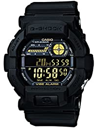Casio Herren Armbanduhr Xl G-Shock Digital Quarz Schwarz Resin Gd-350-1Ber