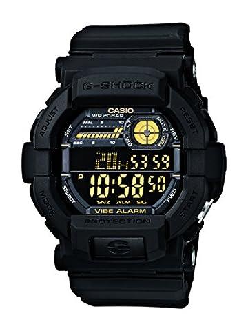 Casio Herren Armbanduhr Xl G-Shock Digital Quarz Schwarz Resin Gd-350-1Ber