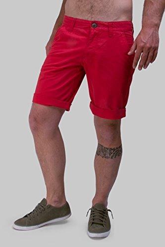 Bermuda chino rosso Rosso