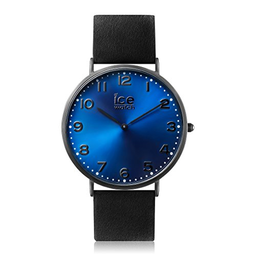 Ice-Watch - CITY Durham - Reloj nero para Hombre (Unisex) con Correa de cuero - 012816 (Medium)