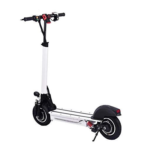 Elektroroller Klappbarer E-Scooter, Faltbarer E-Scooter Mit LED-Licht, 40-60km/h - 40-60 Km Reichweite, Für Jugendliche Und Erwachsene Kinder