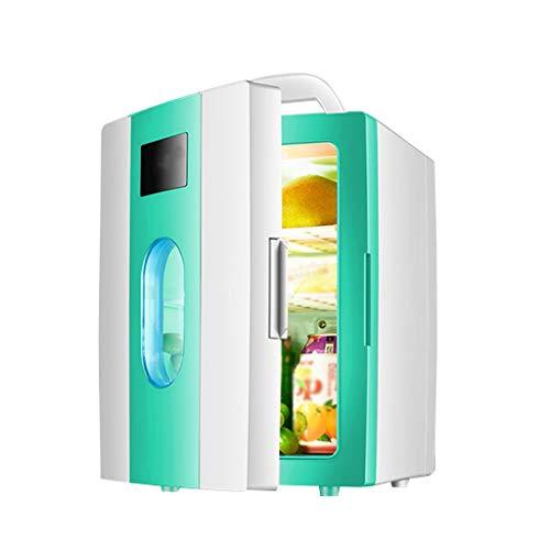 36 Einzel -, (Unbekannt Zweifarbenkühlschrank 10l Mini Kleinwagenheim Studentenwohnheim Mit Box Kosmetik Einzel 36 * 30 * 25 cm XMJ (Color : Green))