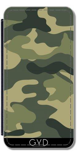 Leder Flip Case Tasche Hülle für Apple iPhone 6/6S - Camouflage Füße by wamdesign Lederoptik