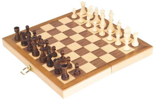 Goki-56921-Schachspiel-in-Holzklappkassette