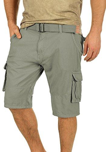 INDICODE Costa Shorts, Größe:L;Farbe:Greige (010) (Cargo Slim Shorts)