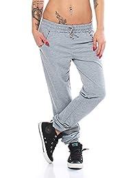 4965 Fashion4Young Damen Soprthose Jogginghose Hose Laufhose verfügbar in 3 Größen 2 Farben