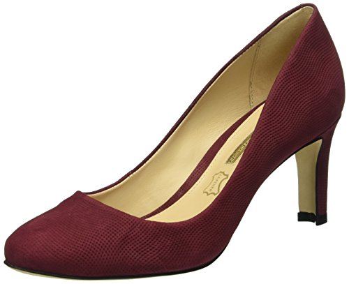 Buffalo London - Zs 6061-15 Nobuck Pointed, Scarpe col tacco Donna Rosso (Rot (Cardovan 01))