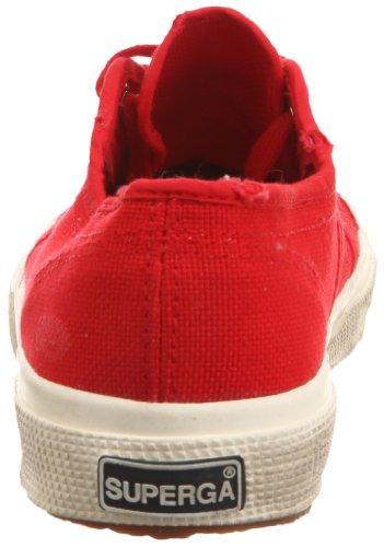 Superga 2750 COTUSTONEWASH, Sneaker Unisex - Adulto Rosso (Red)