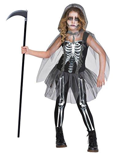 Enter-Deal-Berlin KINDERKOSTÜM - Skelett Girl - Größe 170 cm (14-16 ()
