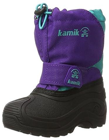 Kamik Mädchen Snowfox Schneestiefel, Violett (Purple/Teal-Violet/Sarcelle), 37 EU
