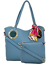 R3 Women's Handbags With Sling Bag Blue-R3-3