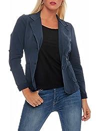 malito klassischer Blazer im Basic-Look Business Sakko 1651 Damen