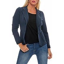 purchase cheap 74828 cbe5c Giacca Cotone Donna - Blu - Amazon.it