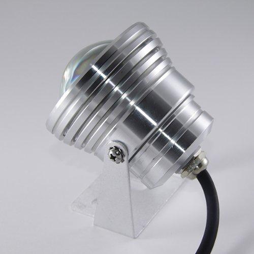 Projecteur LED 5W piscine IP68 acier inoxydable lumière bleu étanche IP67