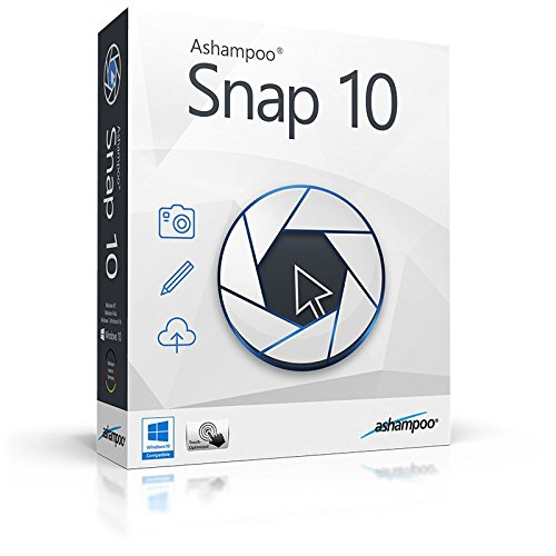 Ashampoo Snap 10 Windows (Product Keycard ohne Datenträger)