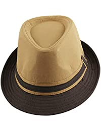 deaa58f0cdc Amazon.co.uk  Fedoras   Trilby Hats - Hats   Caps  Clothing