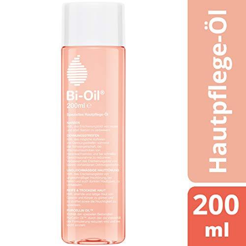 Bi-Oil Hautpflege-Öl, Spezielles Pflegeprodukt für Narben & Dehnungsstreifen (200 ml) -