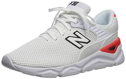 New Balance X90, Entrenadores para Hombre, Blanco White, 42 EU