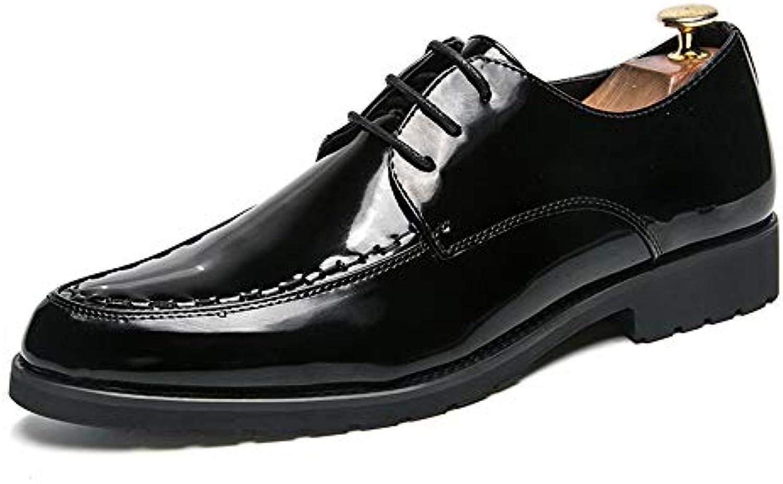 Ofgcfbvxd Scarpe da Lavoro aziendali da Uomo Scarpe Scarpe Scarpe in Pelle Verniciata Stile Oxford Classico Moda per Abbigliamento... | Beni diversi  | Sig/Sig Ra Scarpa  a75655