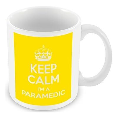 Keep Calm I'm a Paramedic (Yellow) Mug