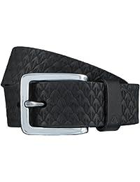 ALBERTO ceinture en cuir ceinture hommes noir