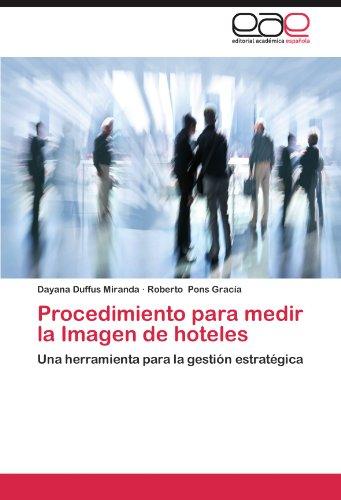 Procedimiento Para Medir La Imagen de Hoteles por Dayana Duffus Miranda